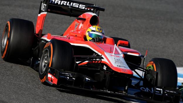 The new Marussia MR02
