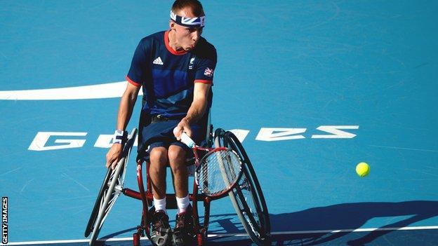 Quad tennis Andy Lapthorne