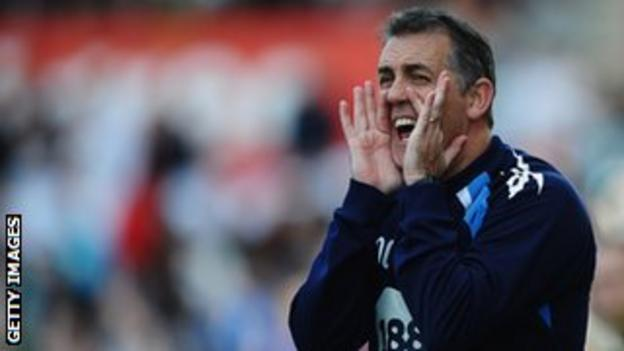 Former Bolton and Burnley manager Owen Coyle