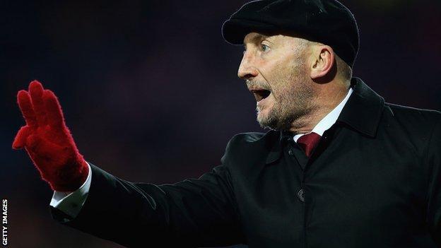 Crystal Palace manager Ian Holloway