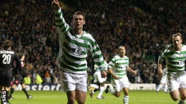 Chris Sutton scored twice against Juventus in a 4-3 win
