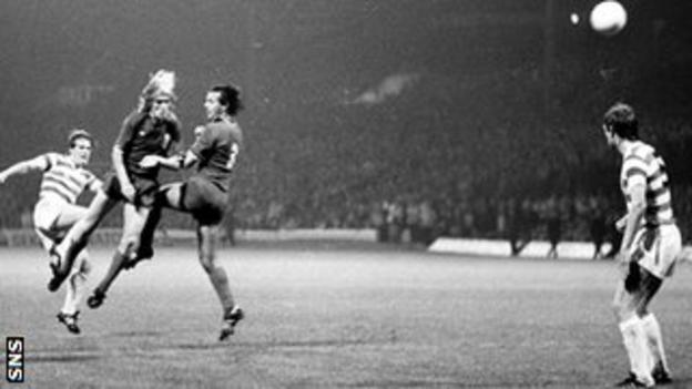 Murdo MacLeod was on target against Juve in Glasgow