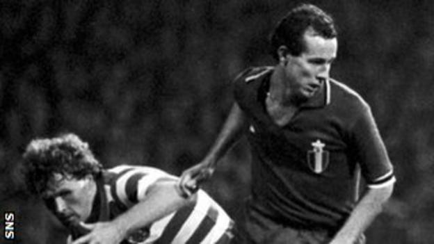 Liam Brady was a star man for Juventus in 1981