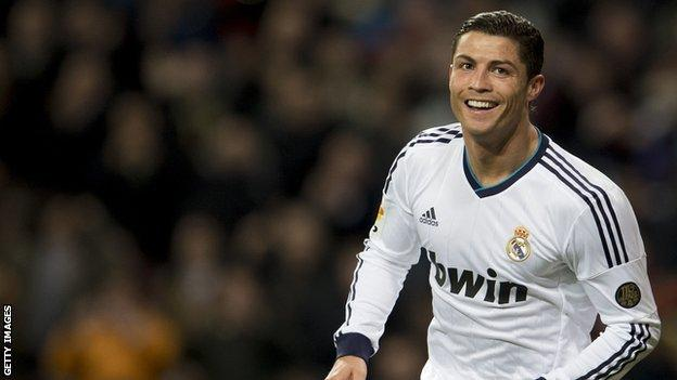 Real Madrid and ex-Manchester United star Cristiano Ronaldo