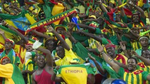 Ethiopia's fans were the best Nations Cup fans the BBC's Alex Capstick has ever seen