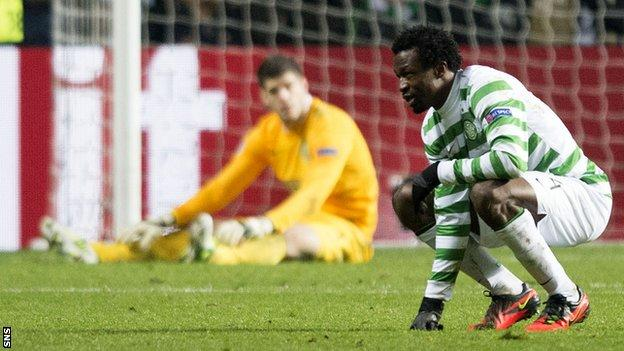 Celtic slumped to a 3-0 defeat at home to Juventus