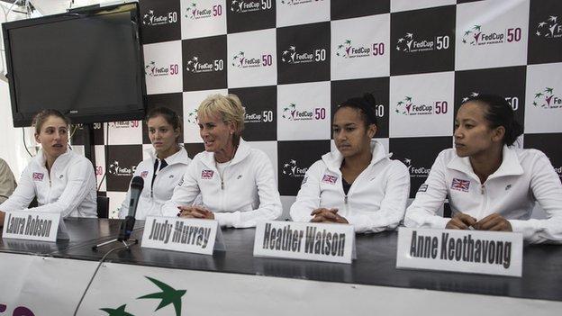 British tennis team