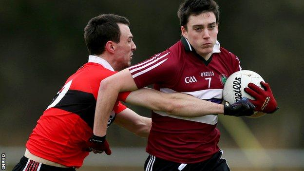 St Mary's in Sigerson Cup action against UCC