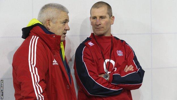 Warren Gatland and Stuart Lancaster