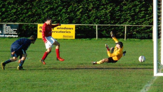 St Peter score against Scots