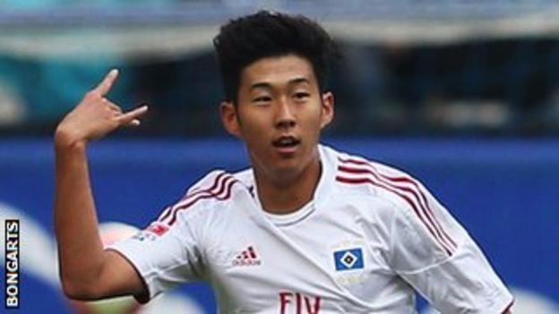 South Korean Son Heung-Min has scored nine Bundesliga goals so far this season