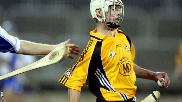 Ulster goalscorer Neil McManus
