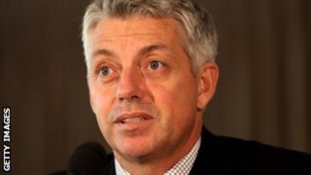 International Cricket Council chief executive Dave Richardson