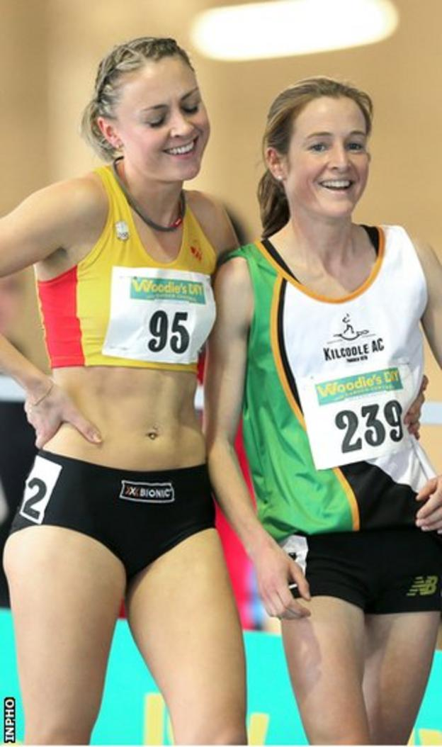 Kerry Harty and Fionnuala Britton