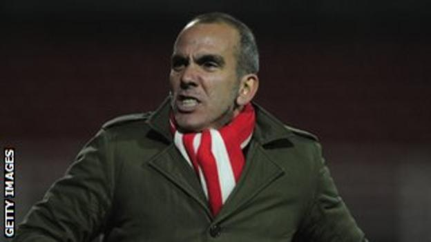 Paolo di Canio left Swindon Town on Monday night.