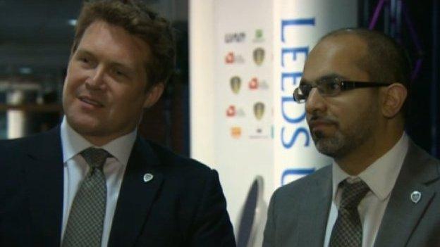David Haigh and Salem Patel
