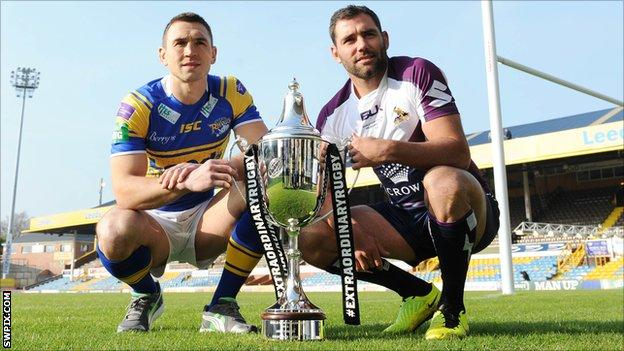Kevin Sinfield and Cameron Smith