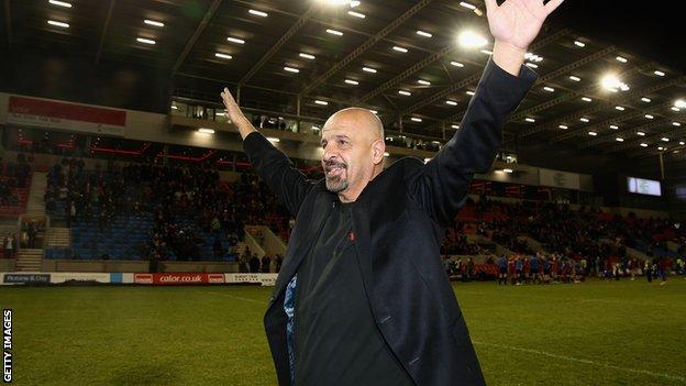 Salford City Reds owner Dr Marwan Koukash
