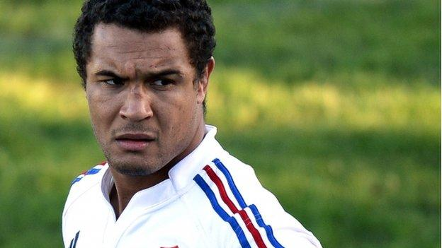 France captain Thierry Dusautoir