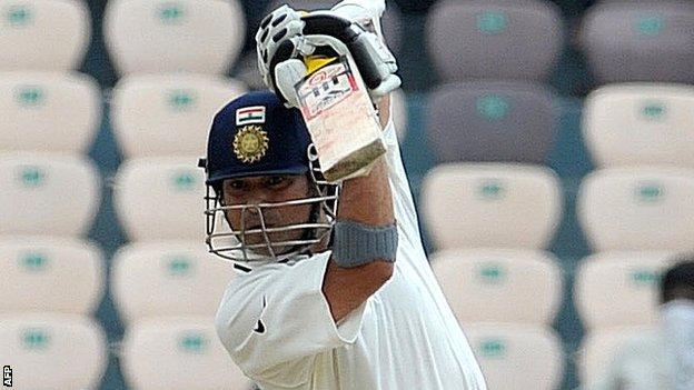 India batsman Sachin Tendulkar