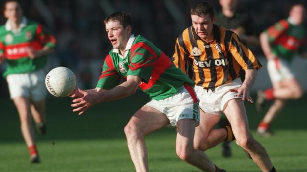 McConville played in the Crossmaglen team which regained the All-Ireland Club Championship in 1999 by beating Ballina Stephenites 0-9 to 0-8 at Croke Park