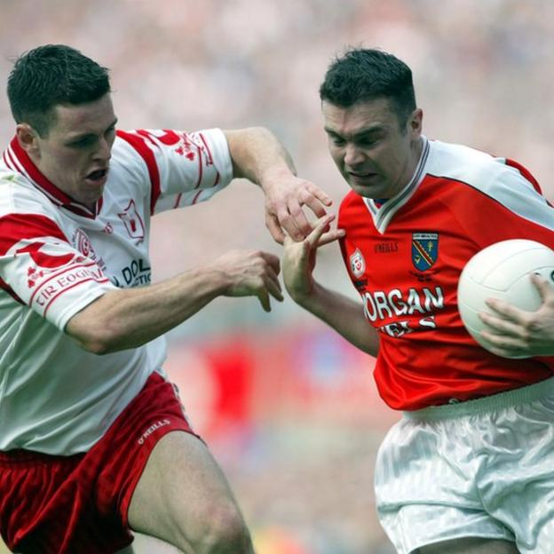 Armagh were back in the All-Ireland final in 2003 but lost out to Conor Gormley and Tyrone