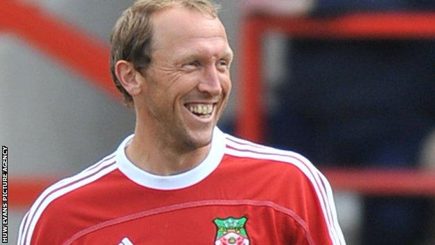 Wrexam player-manager Andy Morrell