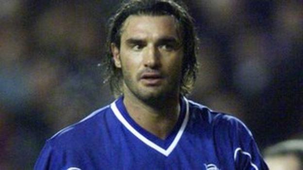 Former Rangers defender Lorenzo Amoruso