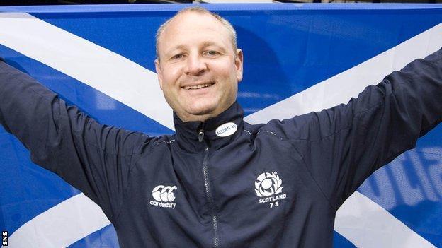 Scotland rugby sevens coach Stephen Gemmell