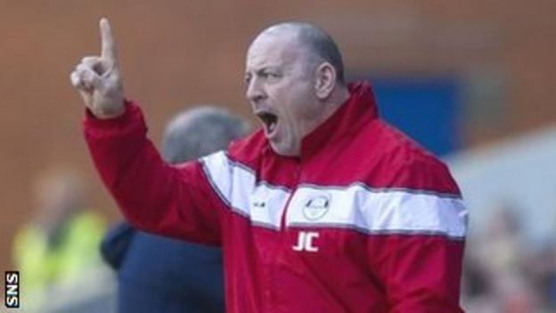 East Stirling boss John Coughlin