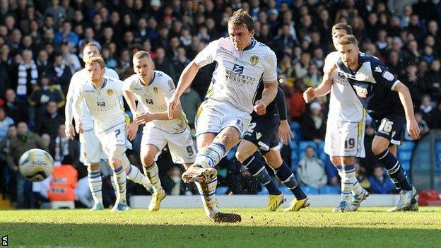 Leeds defender Stephen Warnock