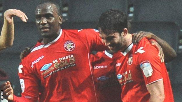 Craig Westcarr and Will Grigg