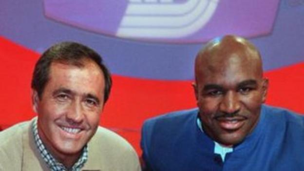 Seve Ballesteros and Evander Holyfield