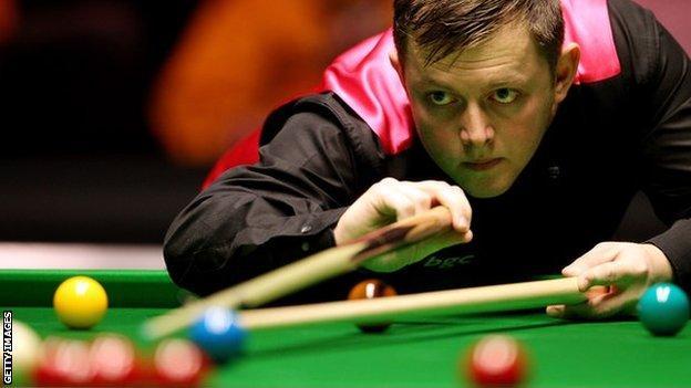 Snooker player Mark Allen