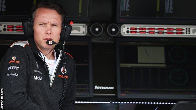 McLaren sporting director Sam Michael