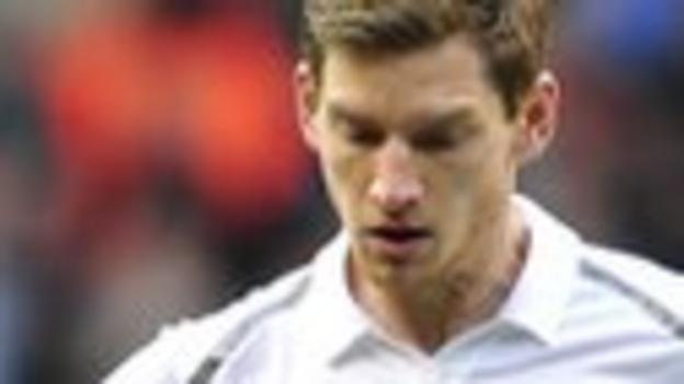 Tottenham central defender Jan Vertonghen