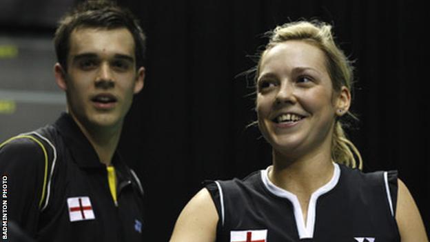 Chris Adcock and Gabby White