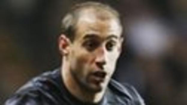 Manchester City right back Pablo Zabaleta