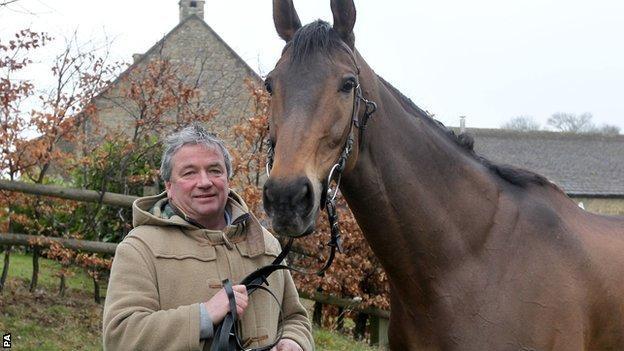 Former Cheltenham Gold Cup winner Imperial Commander