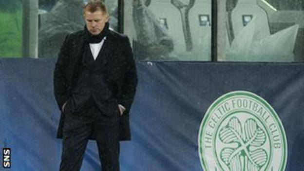 Celtic manager Neil Lennon comes to terms with the Champions League exit