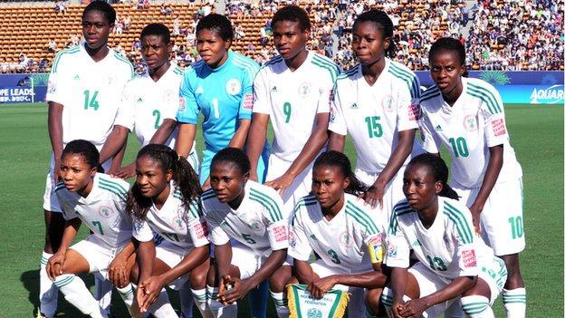 Nigerian women's team