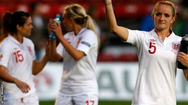 England women's game