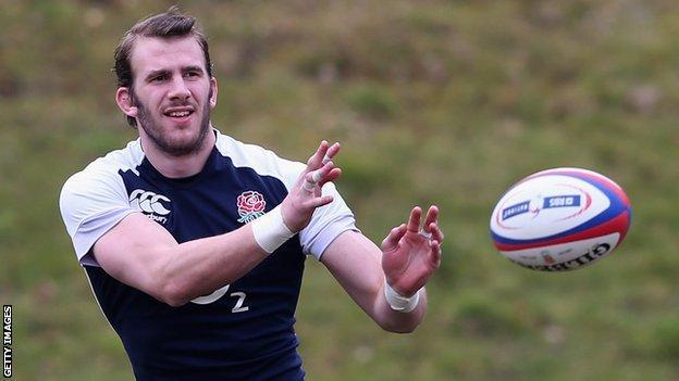 England flanker Tom Croft