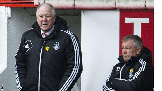 Aberdeen boss Craig Brown