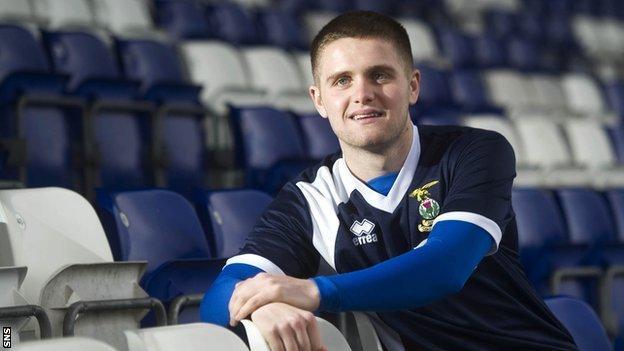 Inverness CT defender Danny Devine