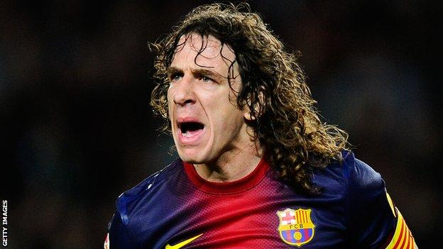 Carles Puyol has had surgery on his right knee again