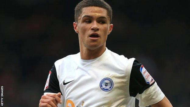 Peterborough's Kane Ferdinand