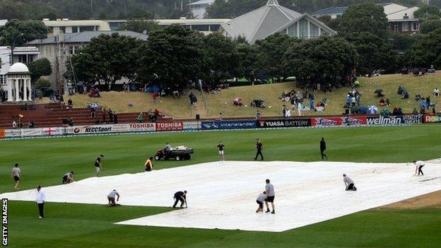 Covers on in Wellington