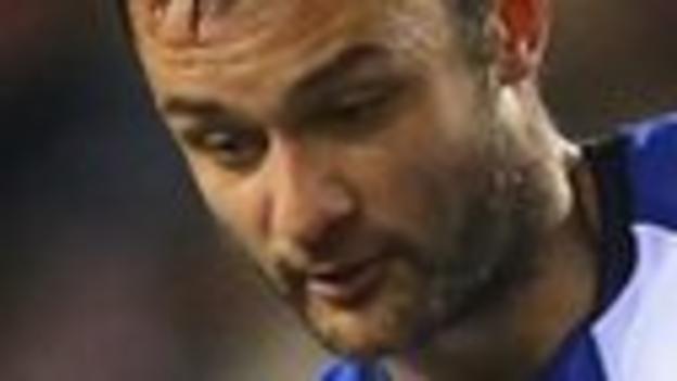 Wigan midfielder Shaun Maloney
