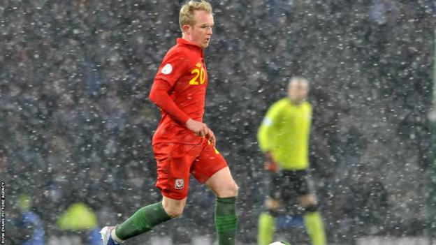 Midfielder Jonathan Williams made his Wales debut against Scotland